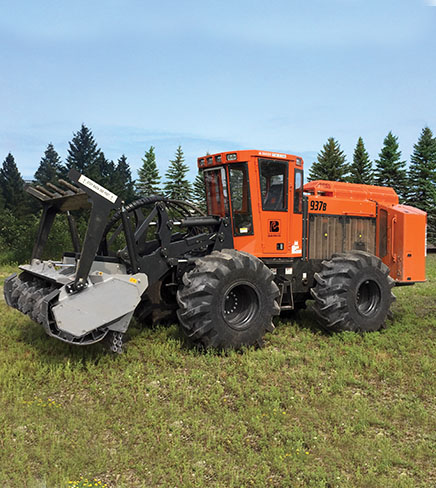 Barko IWT With Mulcher Head